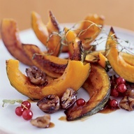 Roasted Squash with Chestnuts and Pomegranate // Roasted Squash with ...