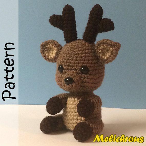 Rudy Reindeer Amigurumi : Pinterest