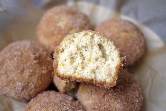 Oven Baked Cinnamon Sugar Puffs | Culinary Content Network | Pinterest