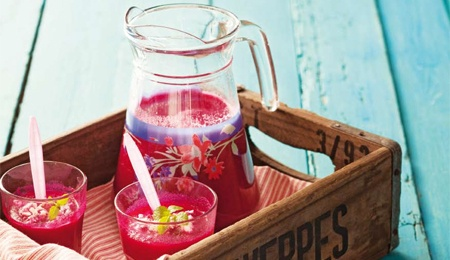 Chilled beetroot and feta soup | Anything Foodie | Pinterest