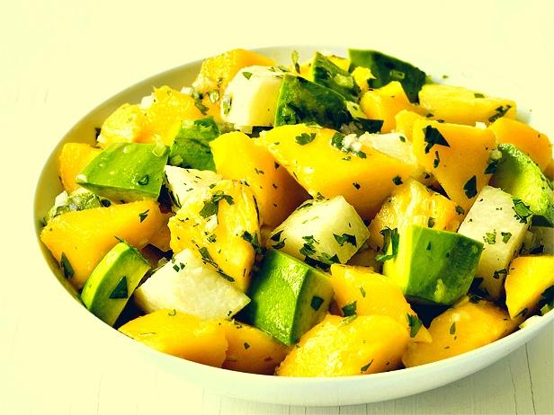 Avocado Jicama Mango Salad   Nom Nom Nom   Pinterest