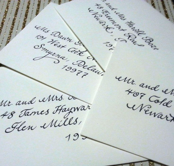 Pin By Calligraphy By Carrie On My Envelopes Pinterest
