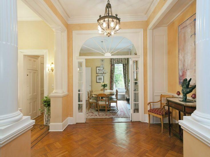 Greek Revival House | decorating | Pinterest
