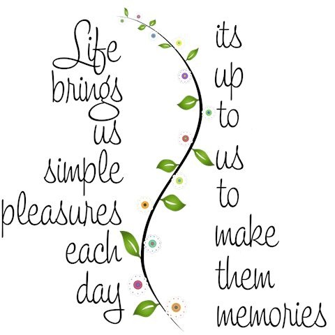 ✿⊱ Memories will come from what we value most, good and bad. To have what you seek most in life, make sure what you are seeking has enduring value that will last forever.  A secret for a long-time marriage ... doing the little things for each other; not spending lavishly at holidays, birthdays or other celebrations. Things will fade away just as our physical appearance does, but the memories created are stored like Gold. Happy Valentines to all!