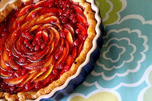 Peach Currant Tart | Perfect Pies & Tarts | Pinterest