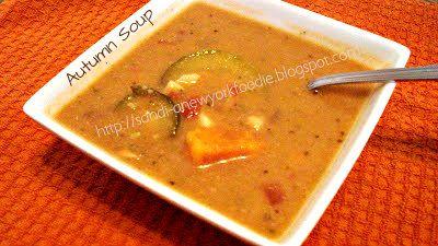 Autumn Sweet Potato Soup 1 tbsp. extra virgin olive oil 1 large onion ...