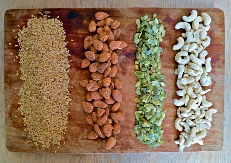 gluten and dairy free nut crackers | Gluten Free | Pinterest