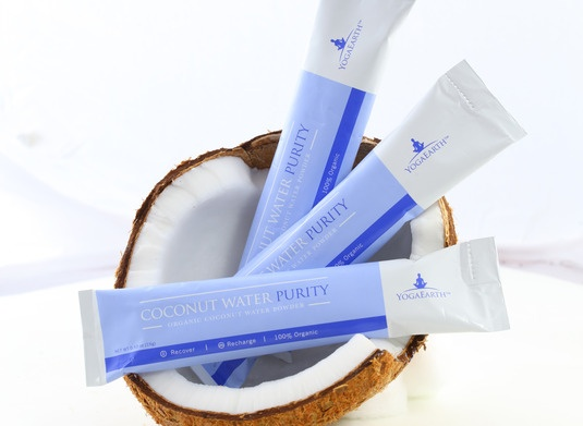 """The value: Subscribe and receive the """"Ultimate Purity Hydration Kit"""", which includes 12 single use packets of coconut water. Just add water for all the amazing benefits. Save money, the enviroment, and recharge yourself $102 every 6 months"""