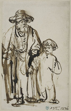 Absolutely LOVE the markmaking. So expressionate! Rembrandt did it well.