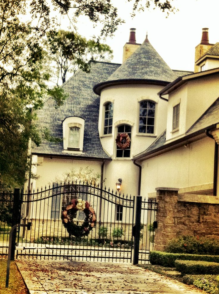 Mini castle house houston tx h o u s e s pinterest for Mini mansions houses