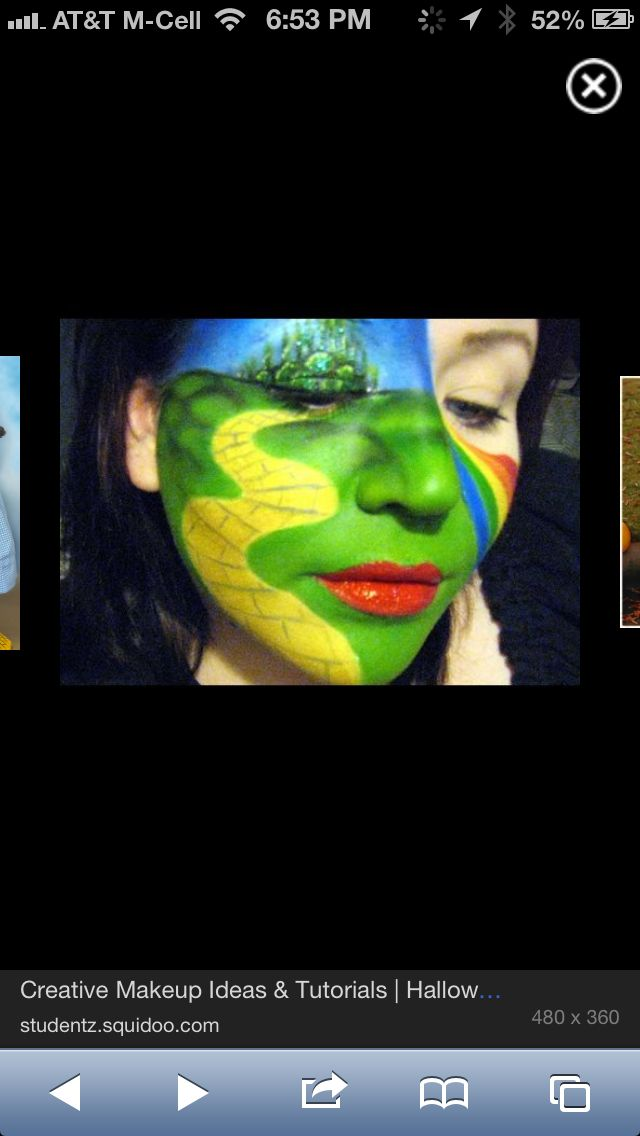 wizard of oz face painting ideas