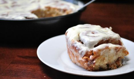Orange Chai-Spiced Cinnamon Rolls with Cream Cheese Frosting