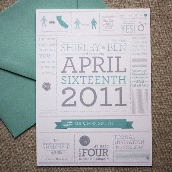 Awesome Save The Date Idea!   My Mood 2   Pinterest
