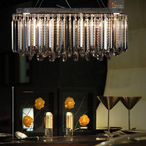 Netmodern Dining Light : New! Modern Dining Room K9 Crystal Chandelier/pendant Ceiling Light ...