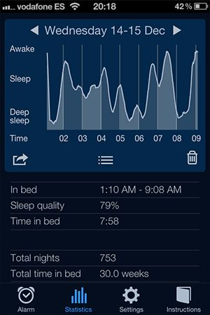 sleep tracking app for iphone