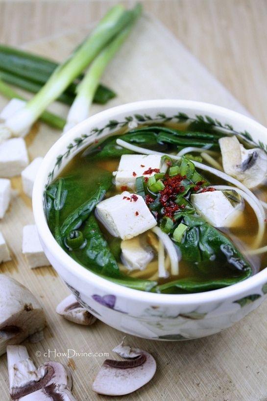 Miso Noodle Soup by cHowDivine.com @Gomo | cHowDivine | Asian Food ...
