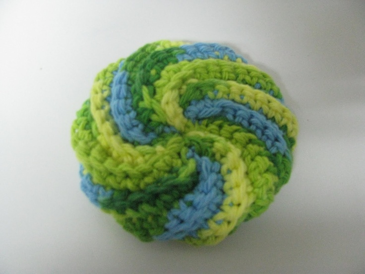How To Make Scrubbies ... crochet patterns that are easy, creative ...