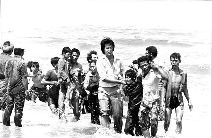 Vietnamese Boat People 1975