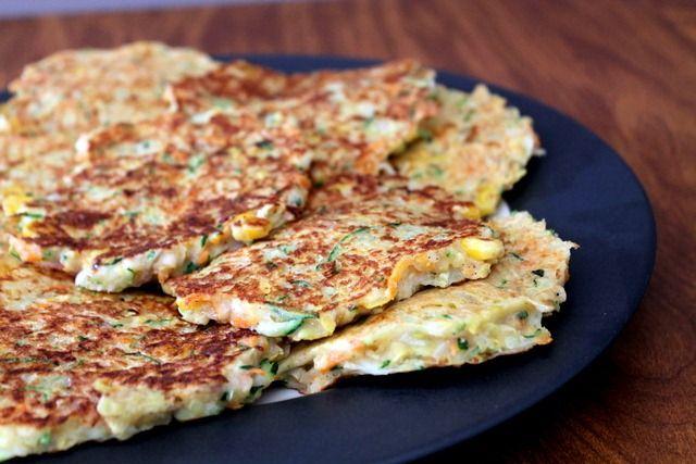 zucchini latkes | Recipes Zucchini | Pinterest