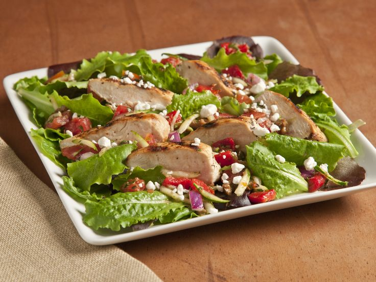 Grilled Chicken Provencal Salad ~~~~ Nutrition Information 267 ...