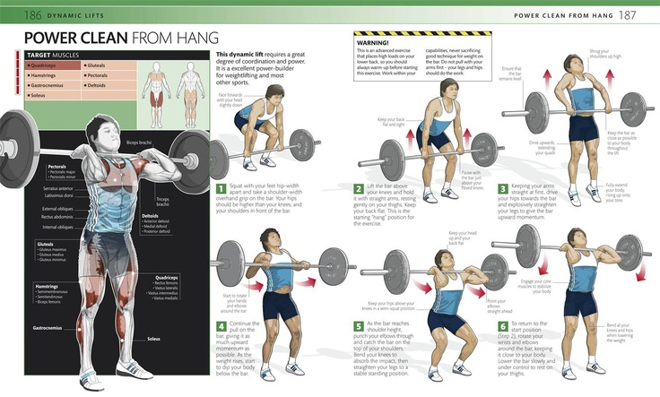 power clean workout