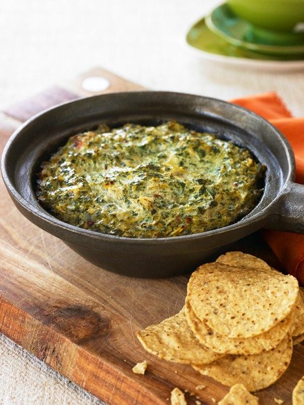Warm Spinach-Artichoke Dip | Chloe's Kitchen | Pinterest