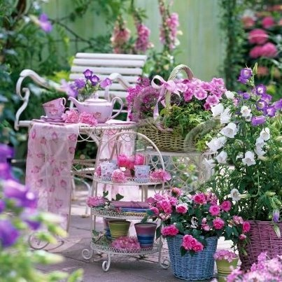 Pin By Lilly On Shabby Chic Country Garden Ideas Pinterest