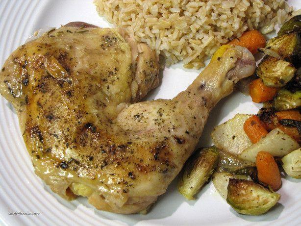 Slow Cooker Garlic Chicken | Recipe