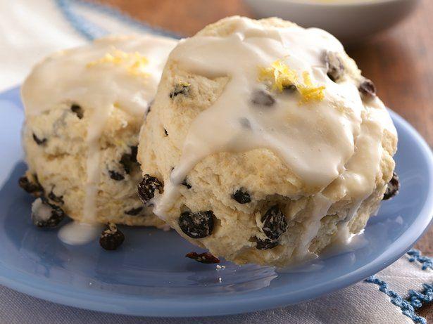 Lemon-Currant Cream Scones   Recipe