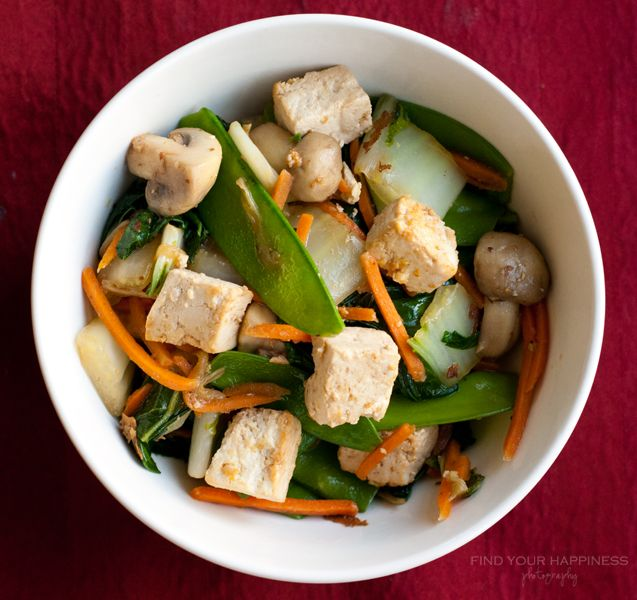 Made a tofu stir fry similar to this today. Was DELICIOUS. Will make ...