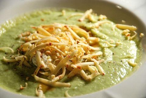 Guacamole soup.