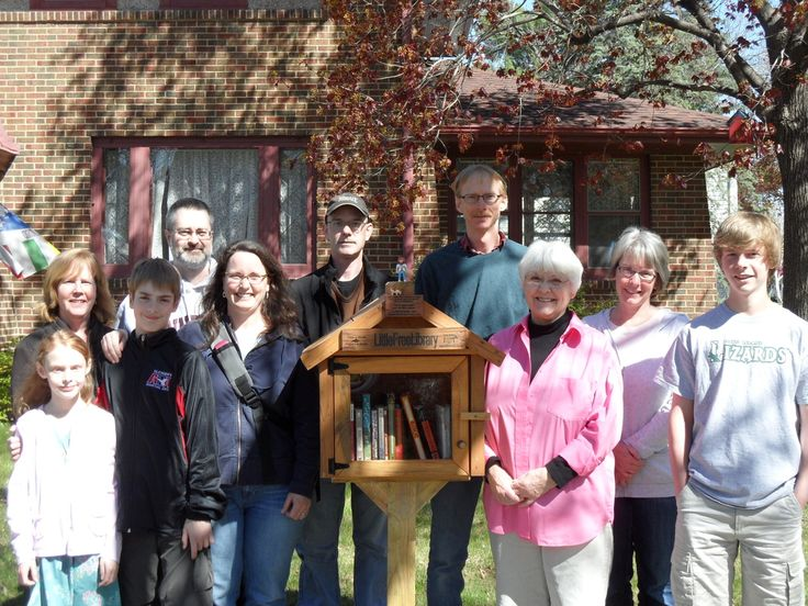 Little Free Library  - The premise is to take a book, leave a book. It's all free, and it's all in the name of sharing books and building community. You can build your own free library and then register it on the Little Free Library website, and then you'll be put on their map of locations! So Cool, I want to build one!