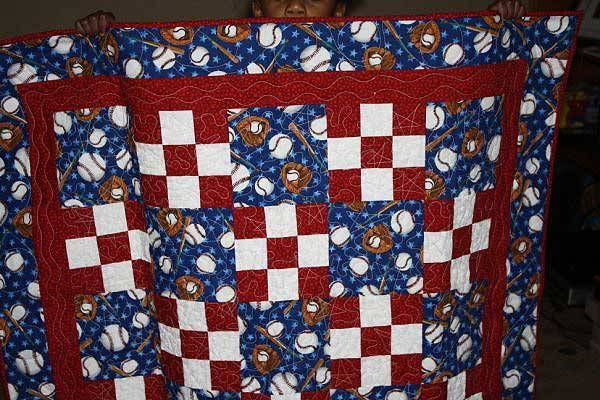 Quilt Patterns For Sports : For a baseball fan Quilts Pinterest