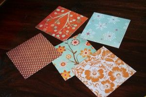 coasters easy to make and so pretty!