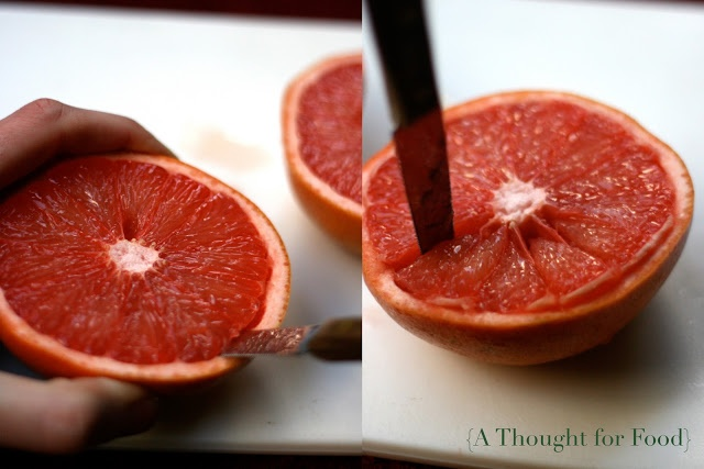 Recipe: Broiled Grapefruit with Brown Sugar and Ginger} - A Thought ...