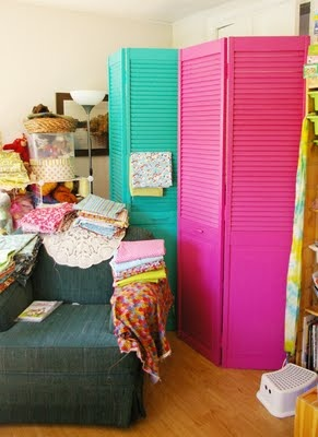 Fabric Storage Make Your Own Upcycled Room Dividers BlogHer