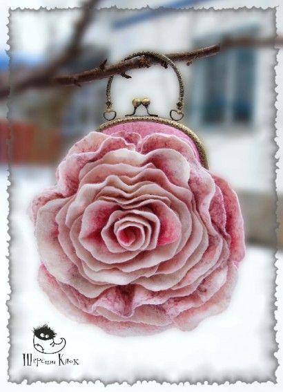 Сумка-роза