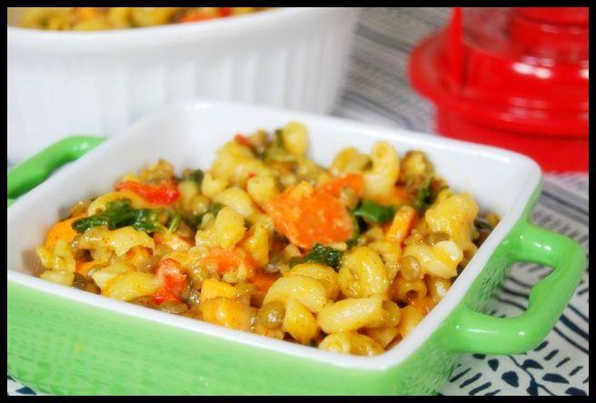 Lentil Veggie Mac & Cheese | Recipe