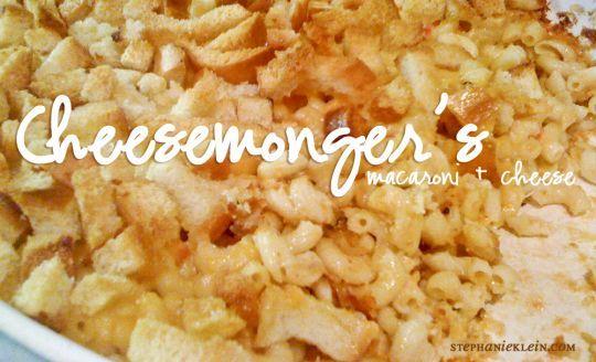 cheesemonger's award-winning mac 'n' cheese