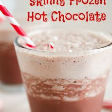 Skinny Frozen Hot Chocolate Recipe | Food for thought.. : ) | Pintere ...