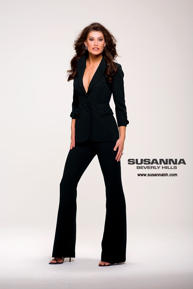 Luxury How To Stand Out Womens Black Pants Suits For Fall 2017
