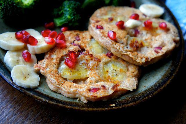 "Pomegranate Pancakes | ""Just a Little Bit"" Healthful... January 201..."