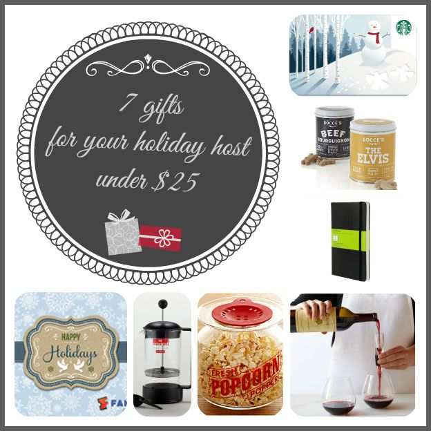 Host Gift Ideas Amazing Of Christmas Gifts Under $25 Images