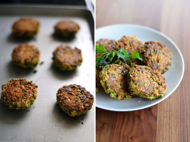 ... baked chipotle sweet potato and black bean quinoa cakes with creamy