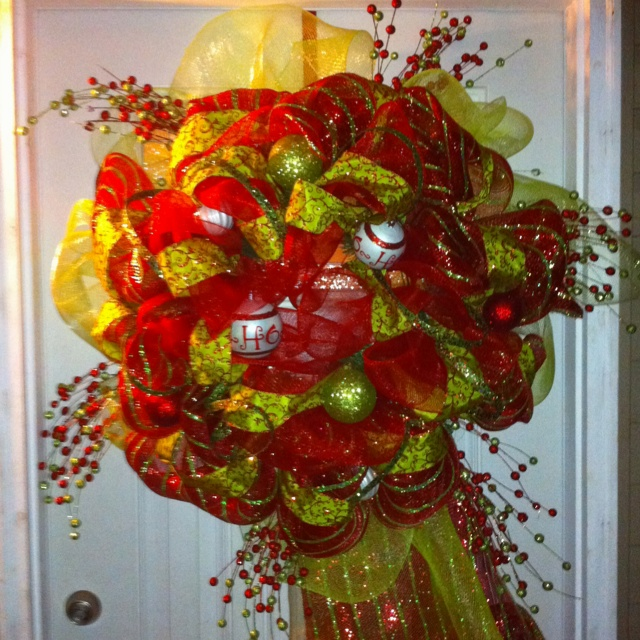 our christmas wreath holiday crafts pinterest