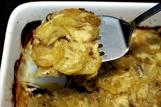 simple potato gratin | Foods | Pinterest