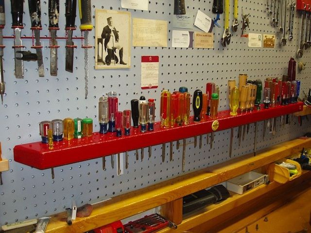 Размещение инструмента в мастерской своими руками 176