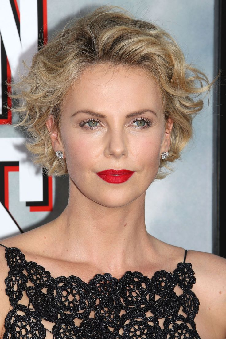 Charlize Theron short hairstyle | Hairstyle | Pinterest