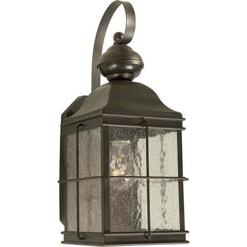 Series 435 Motion Sensor Antique Bronze One Light Outdoor Wall Light