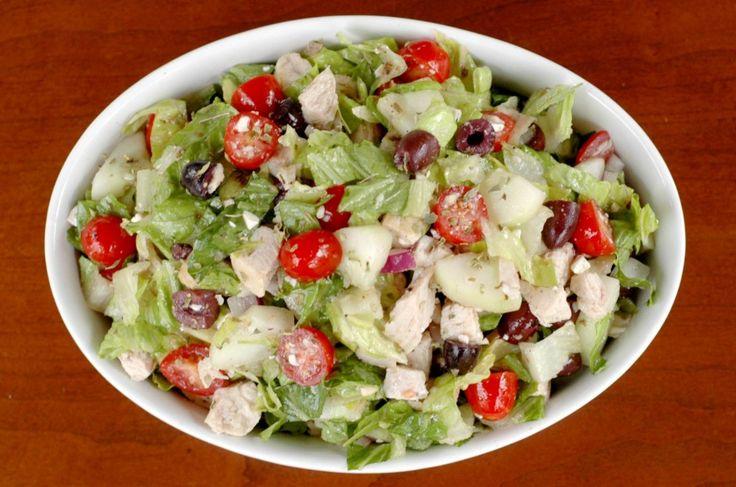 Greek Chopped Salad | Dinner Ideas | Pinterest